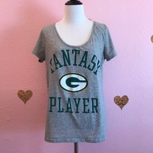 PINK Victoria's Secret Green Bay Packers tee